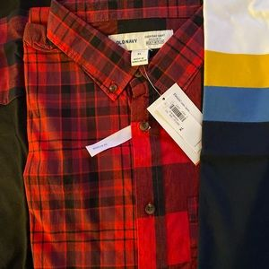 Old navy shirt (2) and button down